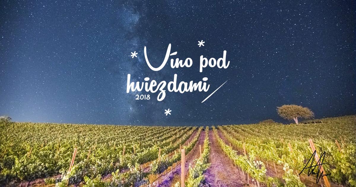 Víno pod hviezdami 2018