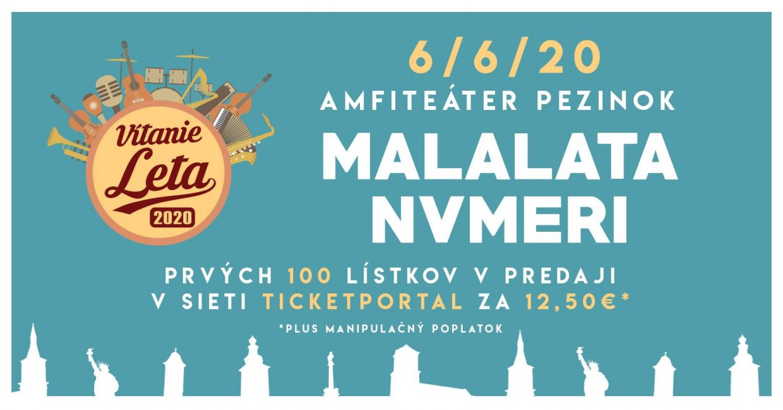 Multižánrový festival Vítanie Leta 2020 Pezinok
